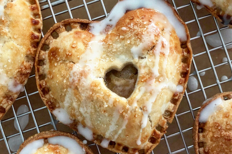 Heart Shaped Apple Hand Pies